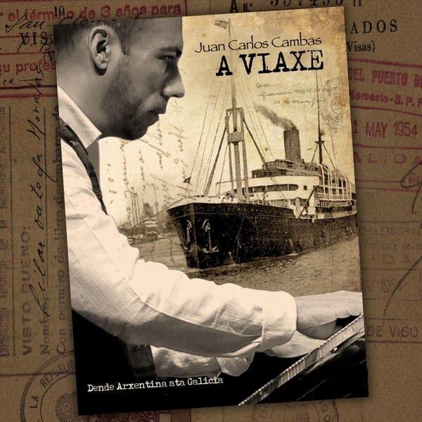 Material gráfico para A Viaxe / Dende Arxentina Ata Galicia