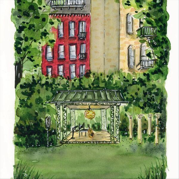 Cover art for The Garden