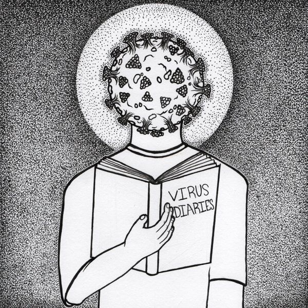 Cover art for Virus Diaries