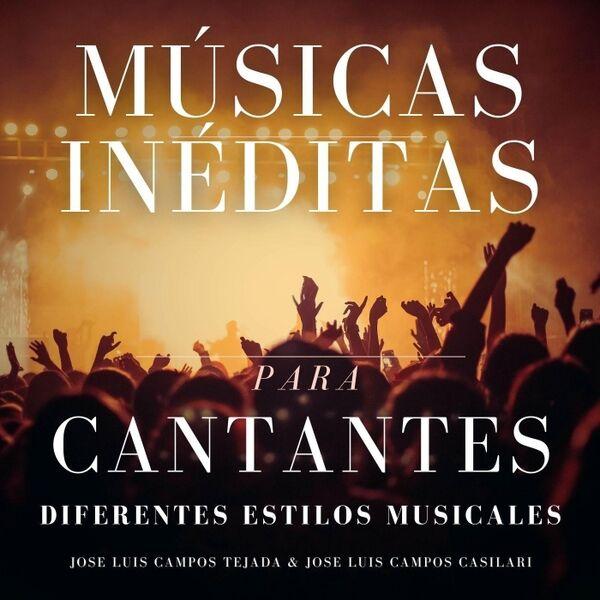 Cover art for Músicas Inéditas para Cantantes: Diferentes Estilos Musicales