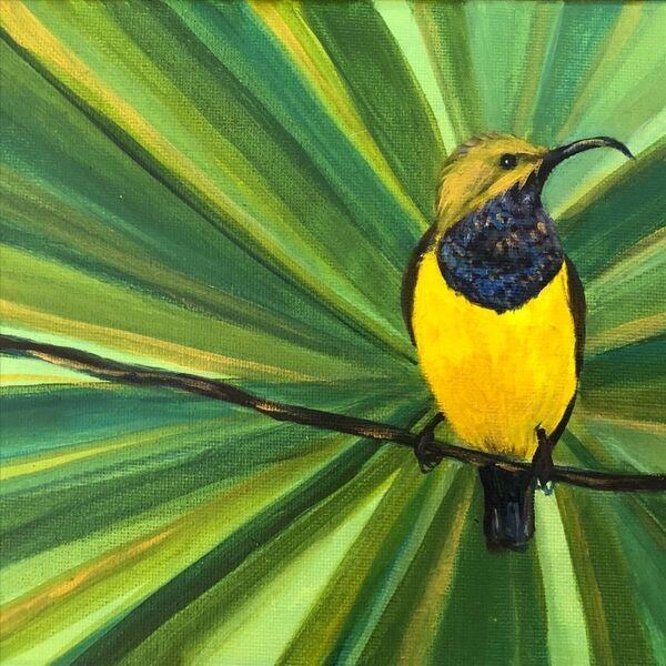 Cover art for Sunbird