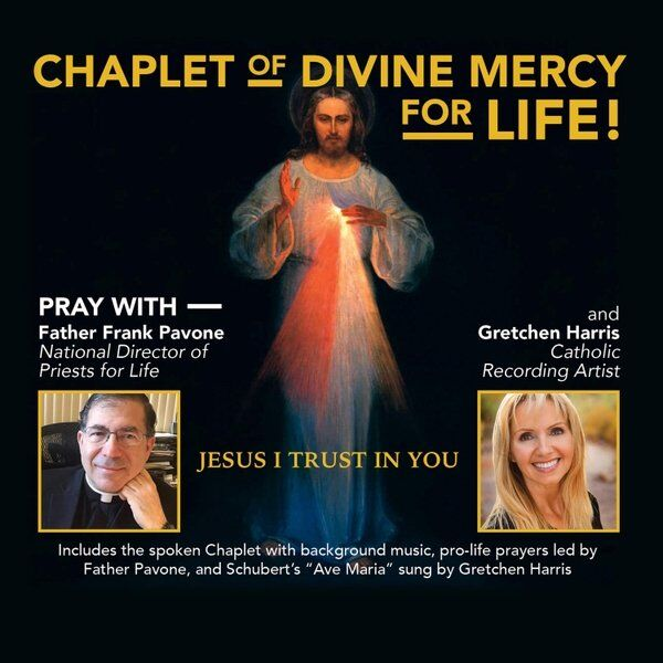 Cover art for The Chaplet of Divine Mercy - For Life!