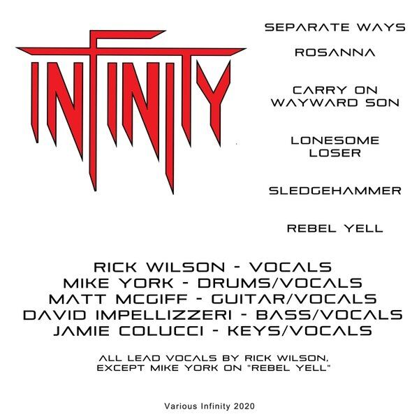 Cover art for Infinity
