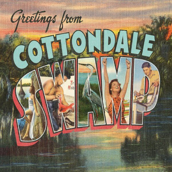 Cover art for Greetings from Cottondale Swamp