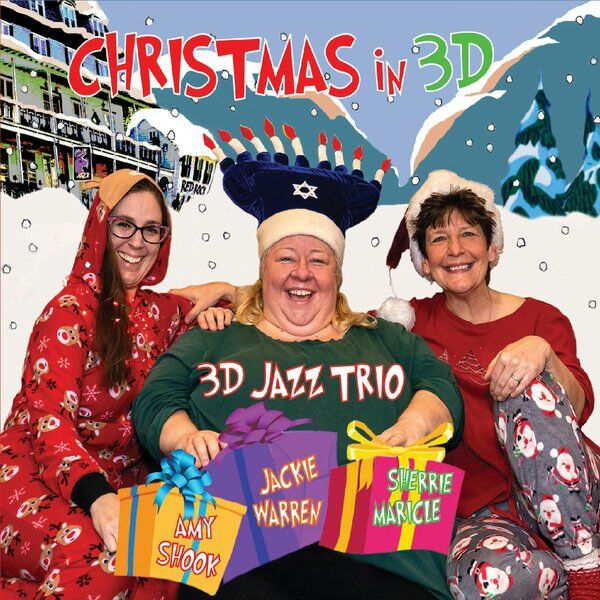 Cover art for Christmas in 3D