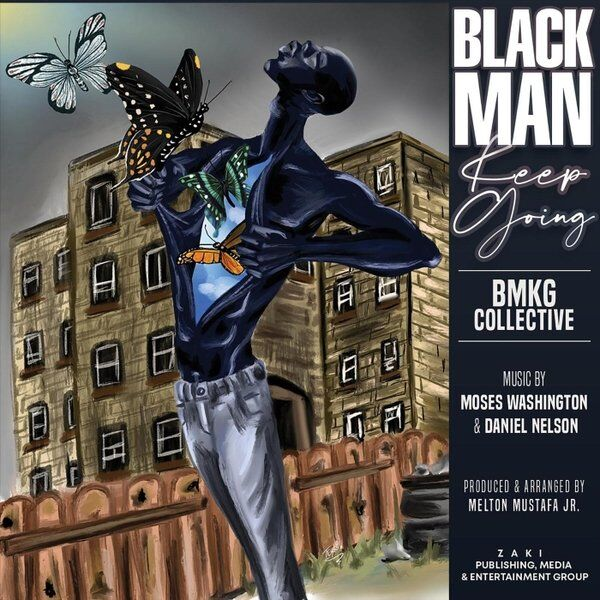 Cover art for Black Man Keep Going (Radio Edit)