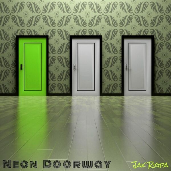 Cover art for Neon Doorway