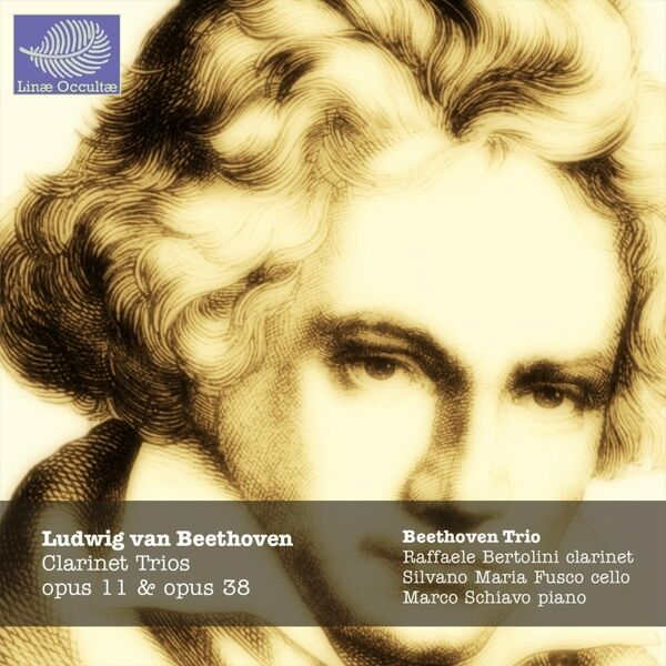 Cover art for Beethoven Clarinet Trios Opus 11 & 38