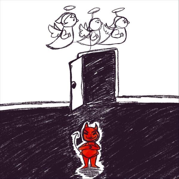 Cover art for Devil's Door