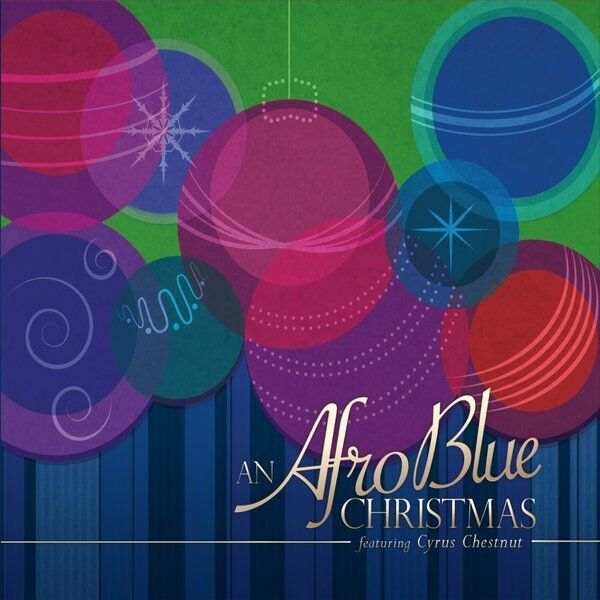 Cover art for An Afro Blue Christmas