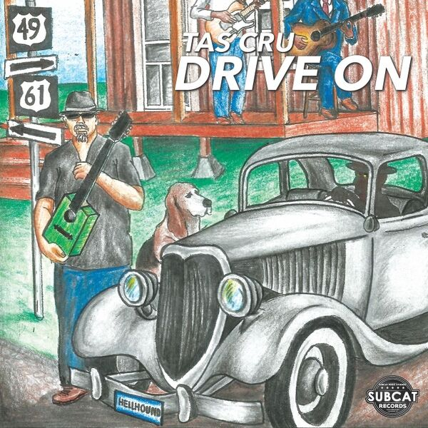 Cover art for Drive On
