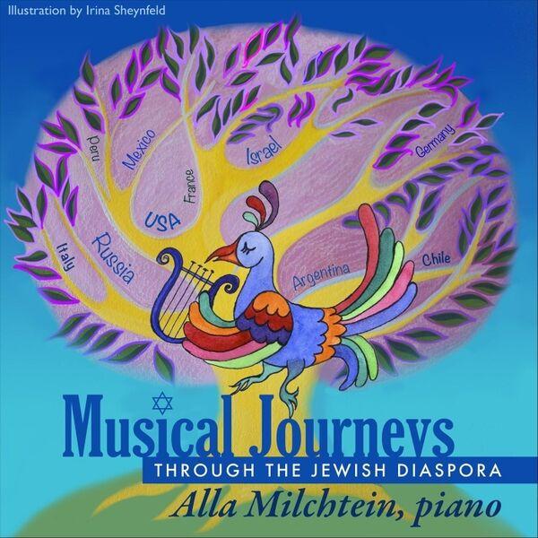 Cover art for Musical Journeys Through the Jewish Diaspora
