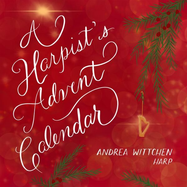 Cover art for A Harpist's Advent Calendar