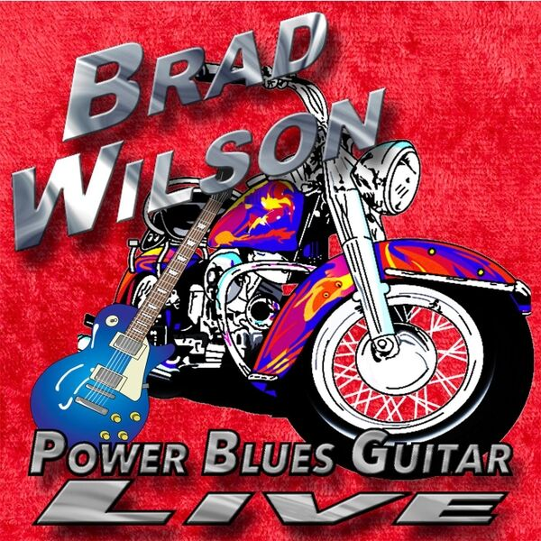 Cover art for Power Blues Guitar Live