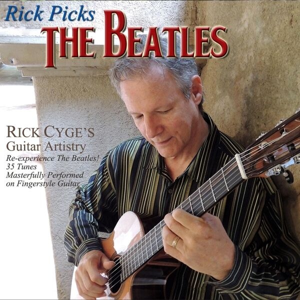 Cover art for Rick Picks the Beatles