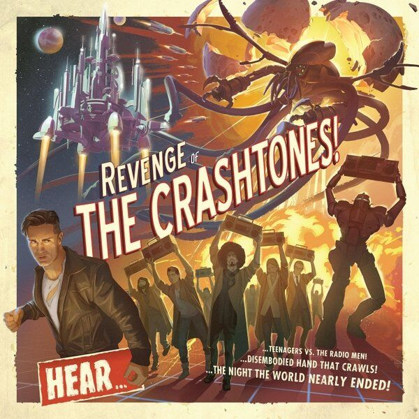 Cover art for Revenge of the Crashtones