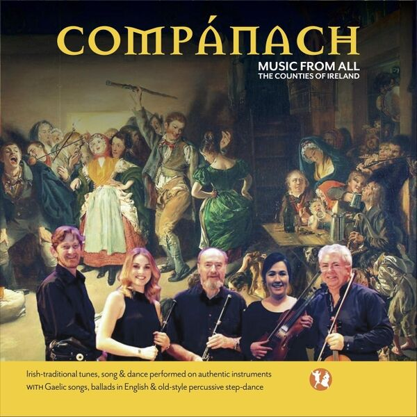 Cover art for Compánach: Music from All the Counties of Ireland
