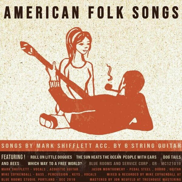 Cover art for American Folk Songs