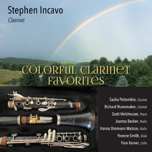 Cover art for Colorful Clarinet Favorites