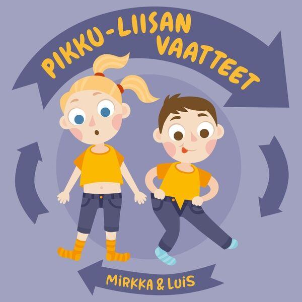 Cover art for Pikku-Liisan vaatteet