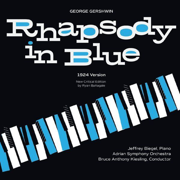 Cover art for Rhapsody in Blue (Arr. by Ryan Banagale)