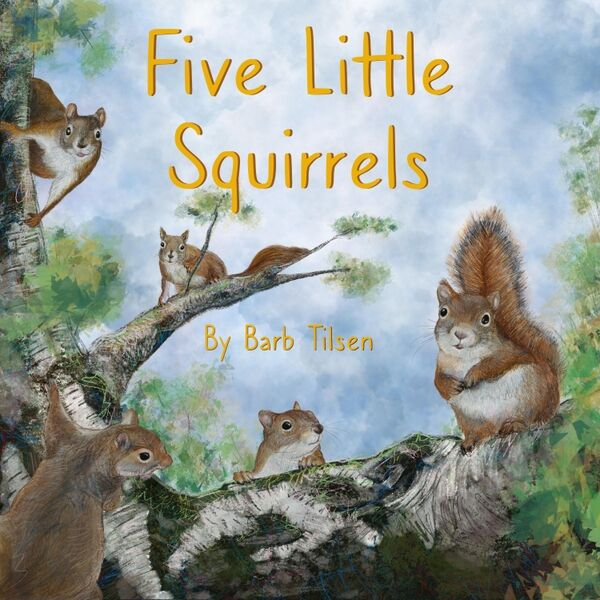 Cover art for Five Little Squirrels