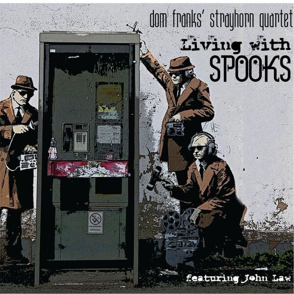 Cover art for Living with Spooks (feat. John Law)
