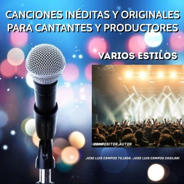 Cover art for Canciones Inéditas y Originales - Para Cantantes y Productores - Varios Estilos