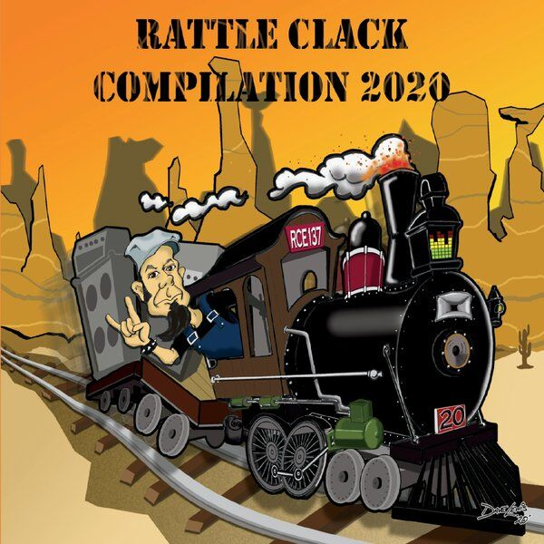 Cover art for Rattle Clack Compilation 2020