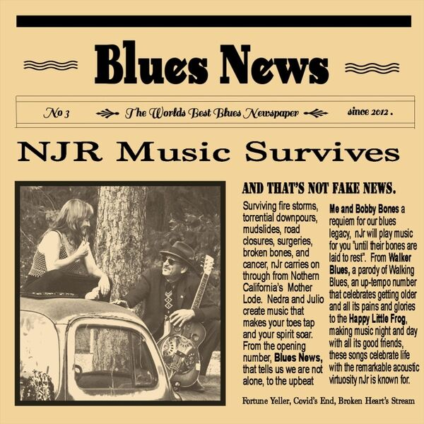 Cover art for Blues News