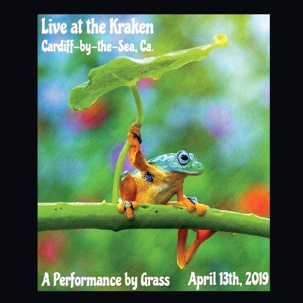 Cover art for Live at the Kraken