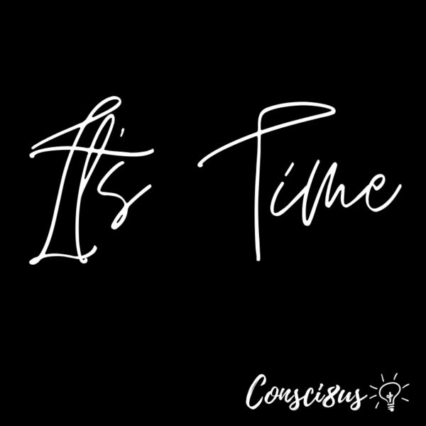 Cover art for It's Time