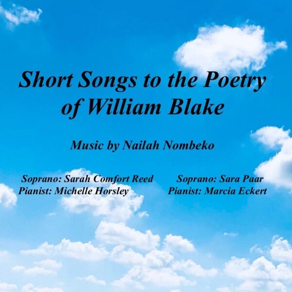Cover art for Short Songs to the Poetry of William Blake