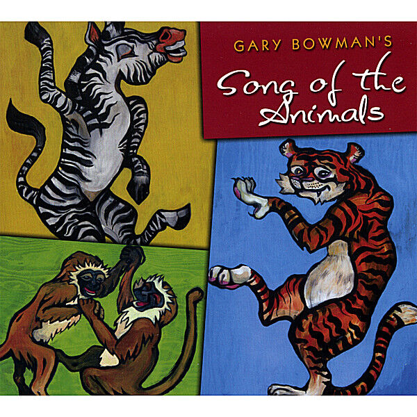 Cover art for Gary Bowman's Song of the Animals