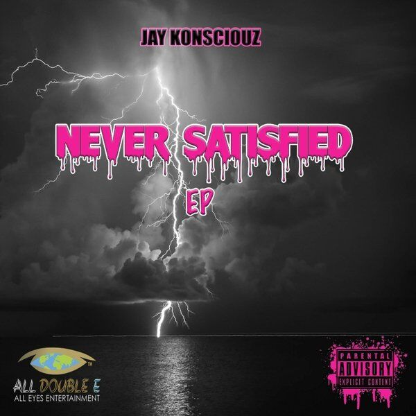 Cover art for Never Satisfied EP
