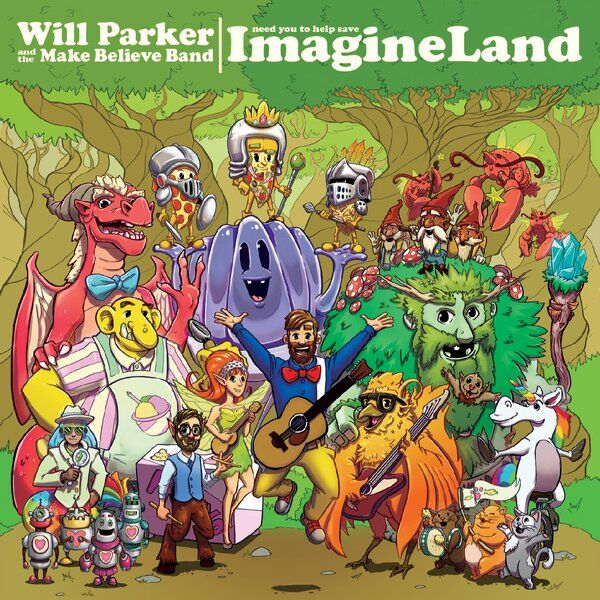 Cover art for Imagine Land