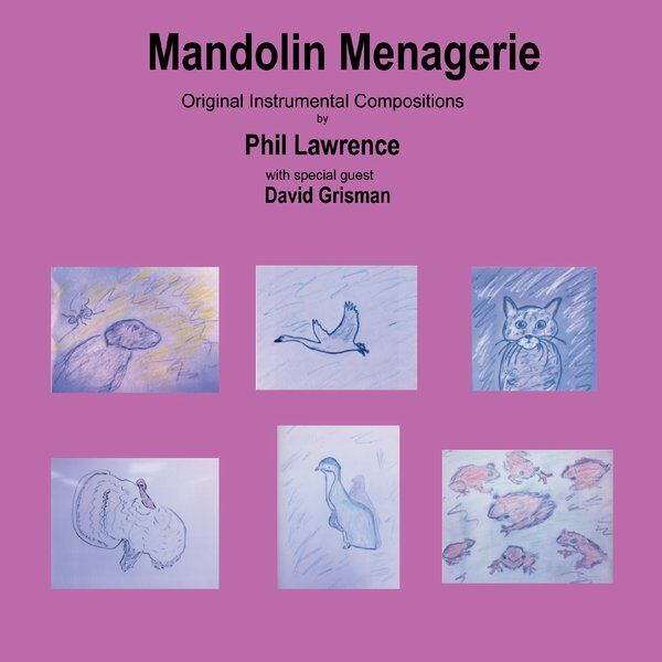 Cover art for Mandolin Menagerie