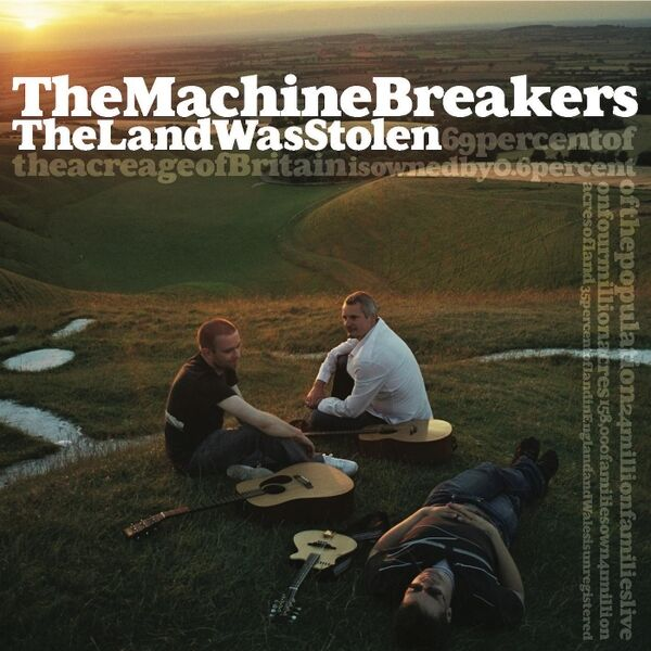 Cover art for The Land Was Stolen