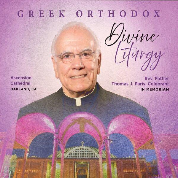 Cover art for Greek Orthodox Divine Liturgy