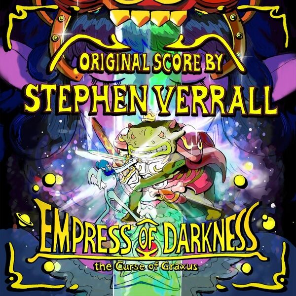 Cover art for Empress of Darkness (The Original Movie Soundtrack)