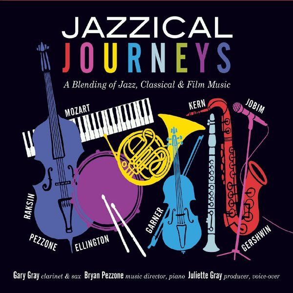 Cover art for Jazzical Journeys'