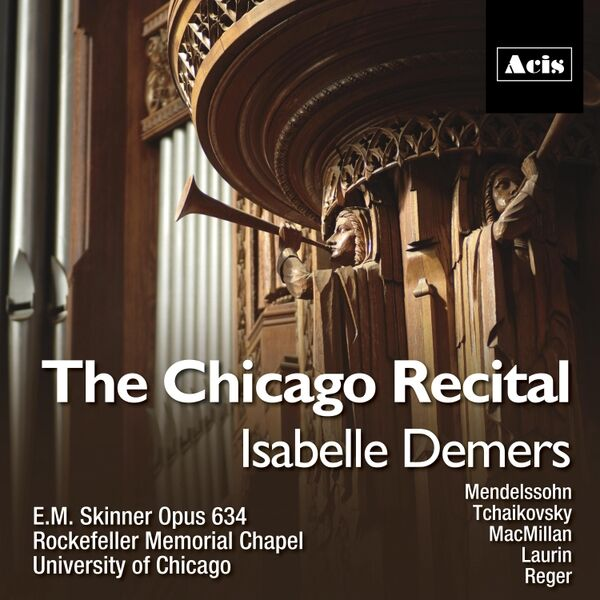 Cover art for The Chicago Recital