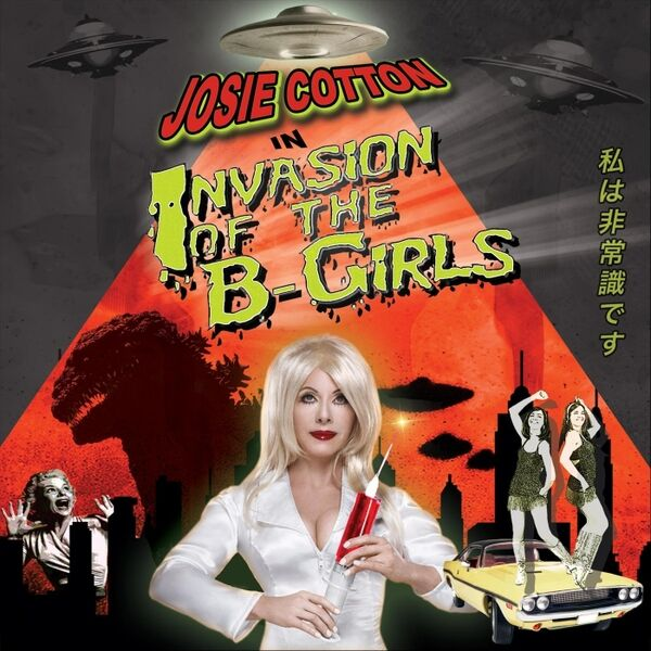 Cover art for Invasion of the B-Girls