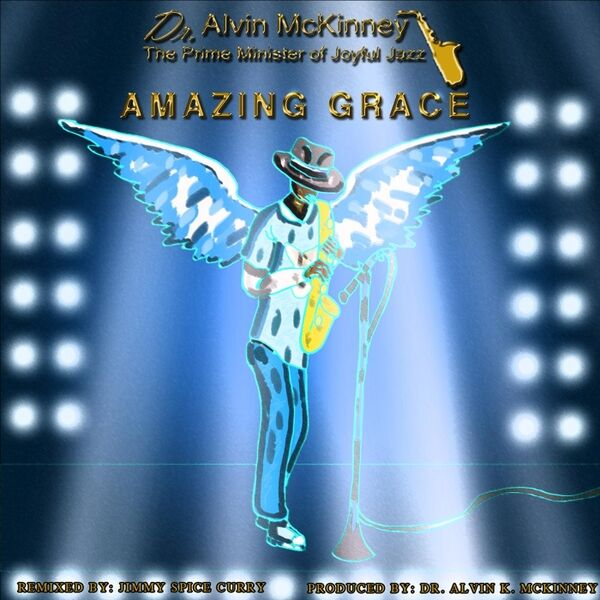 Cover art for Amazing Grace (Remix)