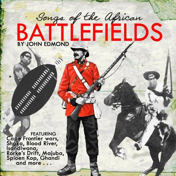 Cover art for Songs of the African Battlefields