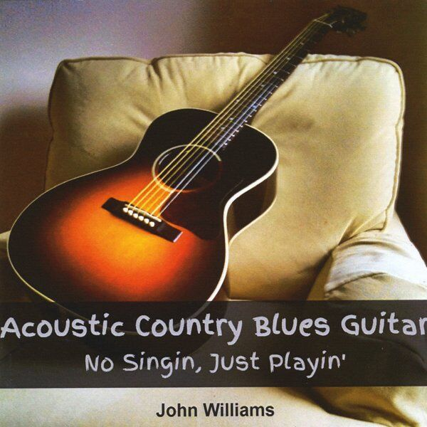 Cover art for Acoustic Country Blues Guitar - No Singin, Just Playin'