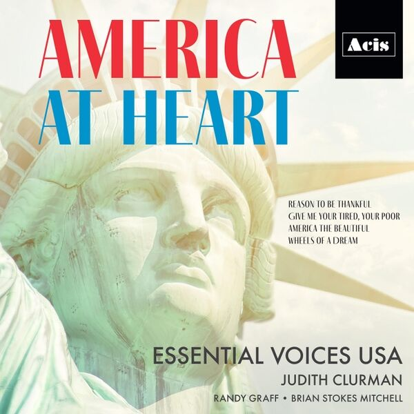 Cover art for America at Heart