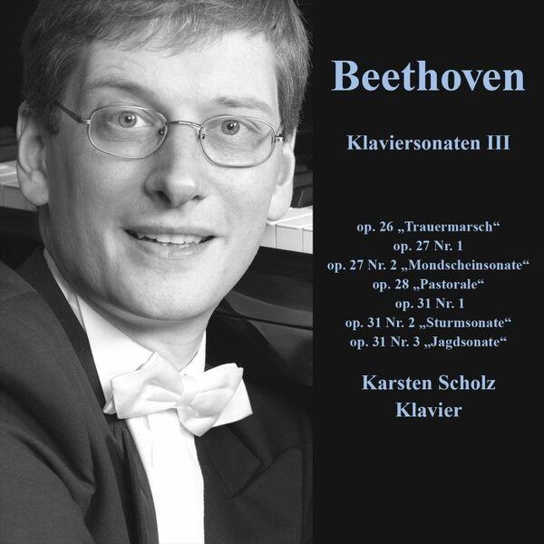 Cover art for Beethoven Piano Sonatas III