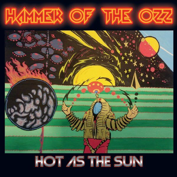 Cover art for Hot as the Sun