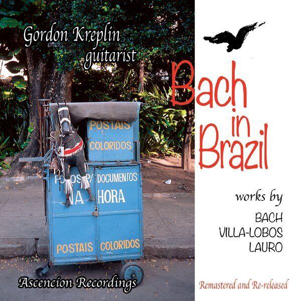 Cover art for Bach in Brazil